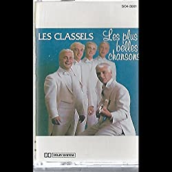 Les Classels: Les Plus Belles Chansons Cassette NM Canada Independent SO4-3001