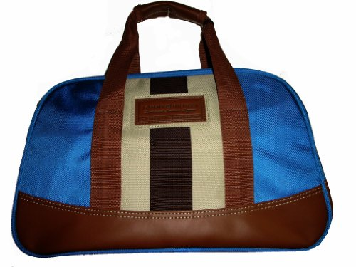 Tommy Hilfiger Men's/Women's Parkdale 16' Carry-On Luggage Tote, Blue Steel