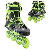 Patines en línea Zapatos de patinaje de velocidad Patines en línea para adultos Cuchillas de rodillos de una sola fila para adultos Patines Profesional en línea de carbono Fibra Principiante Deportes