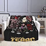 The Binding of Isaac Throw Blanket,Microfiber Throw Blanket fit Bed Couch Sofa ,Soft Blankets for Living Room/Bedroom