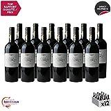 Château Glorit Rouge 2015 - Appellation AOC Côtes de Bordeaux Blaye - Vin Rouge de Bordeaux - Cépages Merlot, Cabernet Franc, Cabernet Sauvignon - Lot de 12x75cl - Médaille d'Or Concours de Bordeaux