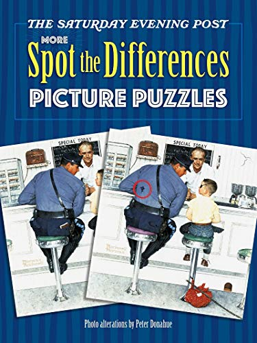 The Saturday Evening Post MORE Spot the Differences Picture Puzzles (Dover Children's Activity Books)の詳細を見る