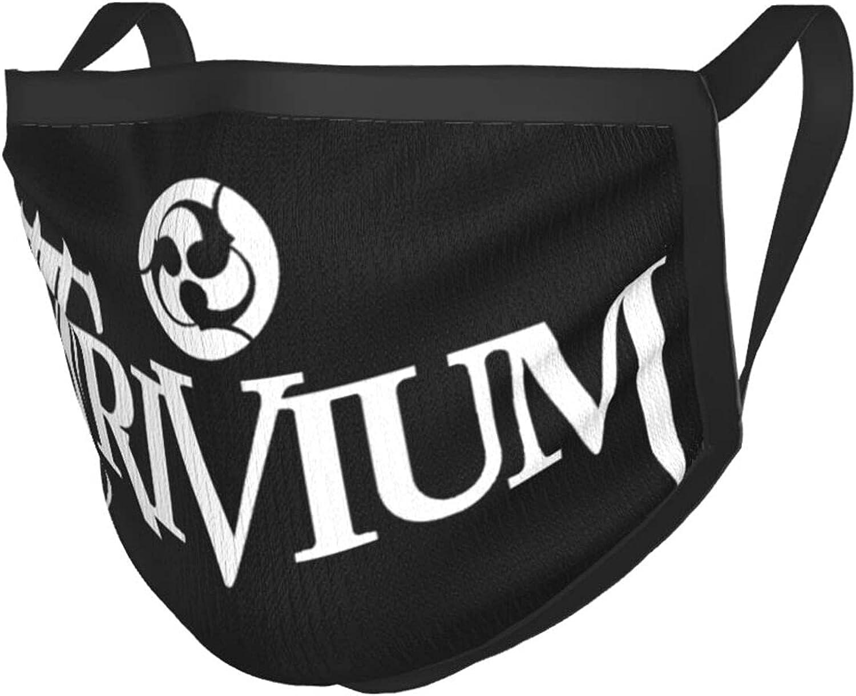 Bclghy Unisex Trivium Heavy Metal Band Adult Black Border Masks Face Mask Bandana Balaclavas