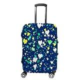 HAOXIANG - Fundas protectoras para maletas de viaje, diseño de corazones multicolor