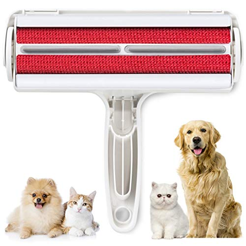 Pet Hair Remover Brush Efficient Pet Hair Detailer Remover for Cars Furniture Carpets Clothes Pet Beds Chairs blue