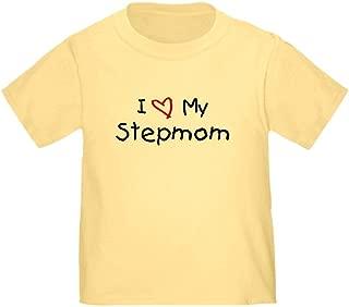 CafePress I Love My Stepmom Toddler T-Shirt Toddler Tshirt