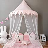 Ymachray Canopy para Cama de niña, Castillo para niños y niños, Tienda de Juegos de mosquitera, decoración de Ropa de Cama, Princesa Nusery