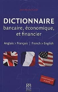 Dictionnaire bancaire, ??conomique et financier - anglais-fran??ais by Jean-Michel Cicile (2009-11-13)