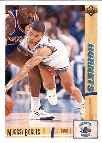 Basketball NBA 1991-92 Upper Deck #242 Muggsy Bogues #242 NM Hornets
