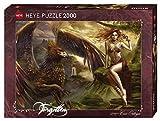 Heye 29726 - Puzzle Estándar, Águila Queen 2,000 Partes, Cris Ortega, Multicolor