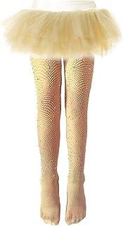homchen, Niños pequeños Niñas Medias de Rejilla Medias Brillantes Mallas Brillantes Mallas para niños Calcetines de Malla Ajustados Trajes de Vacaciones de Moda