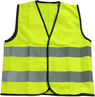 Extaum Kids Reflective Vest High Visibility Traffic Security Clothing Children Safety Waistcoat Child Protective Clothes F...