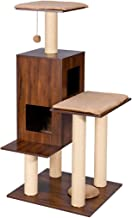 Good Life Modern Deluxe Cat Tree Wood Furniture House Condo 49