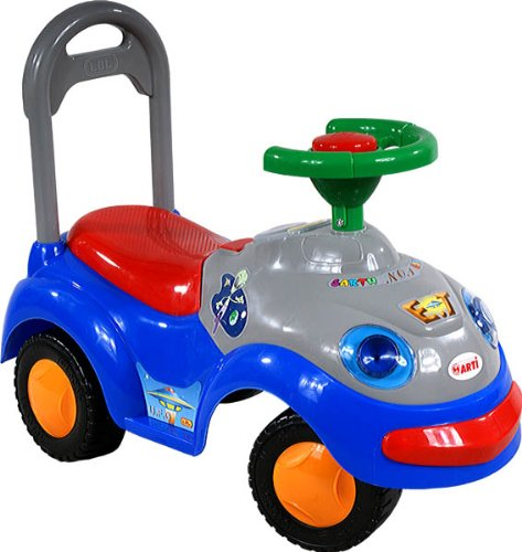 ARTI Jouets ? Tirer Trotteur Porteur 2109BY Garbus Classic Navy Blue Ride-on Activity Toy Baby Car