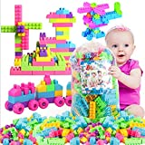 Techhark - Kindly Note that this product includes 200 pcs blocks [Near About 185-205 pcs in Bag] Function: Helps develop intelligence, the sense of grab, creativity and imagination, improve dexterity, and develop visual sense. Little kids love things...