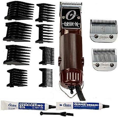 wholesale OSTER Classic 76 online sale Hair Clipper Bundle - 2 online items, includes pack of 8 plastic comb blades sale
