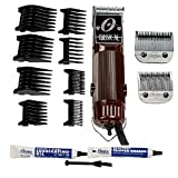 OSTER Classic 76 Hair Clipper Bundle - 2 items, includes pack of 8 plastic comb blades
