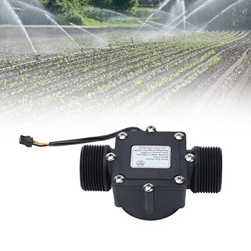 Medidor de flujo industrial YF-DN32, sensor de pasillo del contador del medidor de flujo de agua de la tubería de 1.64in para el riego del jardín