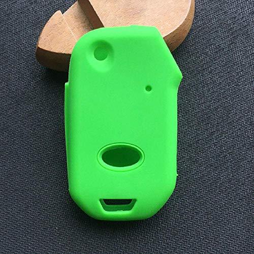 Carcasa de Silicona para Llave de Coche FBFG para kia Sportage R Stinger Ceed CD Sorento Cerato ForteFlip Key