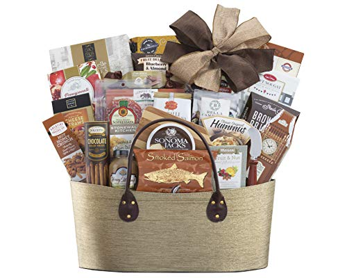 Gourmet Gift Basket- The Extravagant Gourmet Choice Gift Basket by Wine Country Gift Baskets Perfect For Family Gifts Business Gifts Anniversary Gifts Any Occasion
