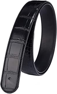 Vatee's Replacement Men's Belt Strap Without Buckle Top Grain Genuine Leather 1.5