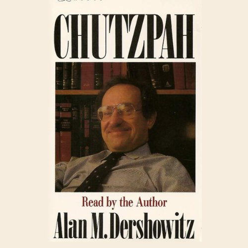 Chutzpah audiobook cover art