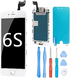 893f0469fd8 Ibaye - Reemplazo de Pantalla iPhone 6S Táctil LCD de Repuesto Completa  Blanco 4.7 ''