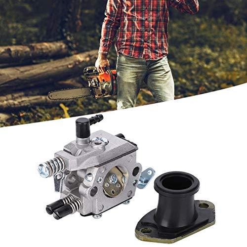 Carburador, repuesto de carburador de aluminio fundido a presión de buena rigidez, para aplicaciones industriales de generador de motor de motosierra