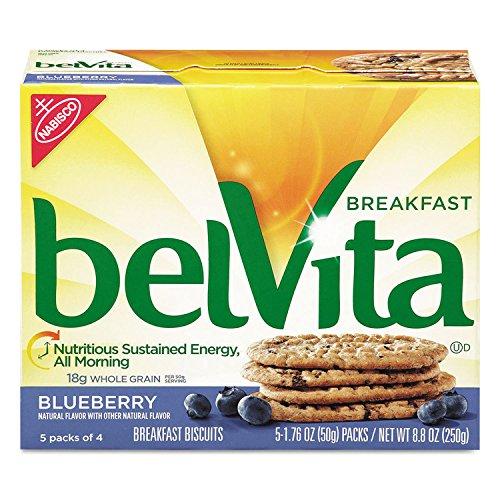 Cadbury Adams USA, LLC 2908BelVita desayuno Galletas, Blueberry, 1.76oz unidades, 64/Carton