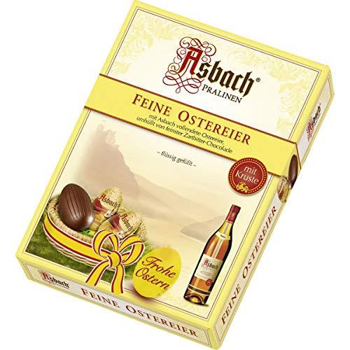 Asbach Weinbrand Ostereier Pralinen Zartbitter Schokolade 150g