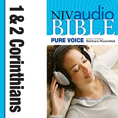 NIV New Testament Audio Bible, Female Voice Only: 1 and 2 Corinthians cover art