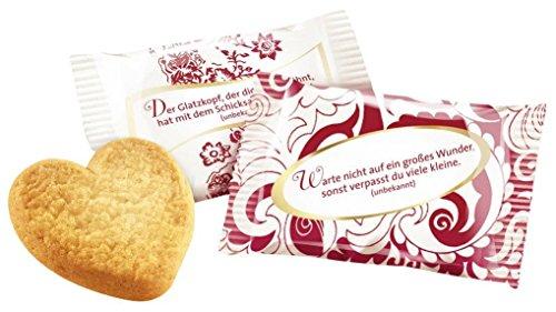 Coppenrath Cookie-Herzen Vanille einzeln verpackt 200x5g