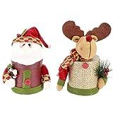 Betued Contenedor De Dulces, Caja De Regalo Caja De Dulces Liviana para Decoraciones De Nochebuena del Día De Navidad