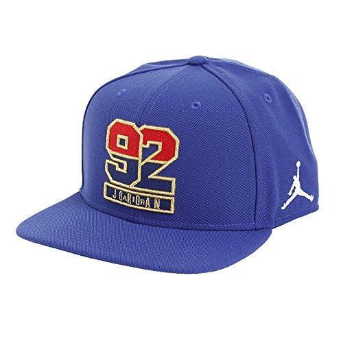 Nike Jordan 7' 92 Snapback - Berretto, Blu, One Size, Unisex
