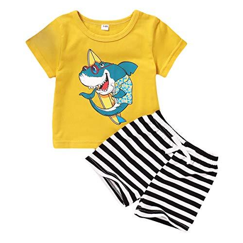 Babykleidung, atmungsaktives Sweatshirt, Oberteil + Camouflage-Shorts, Baseball-Outfit Sets Gr. 0-3 Monate, gelb