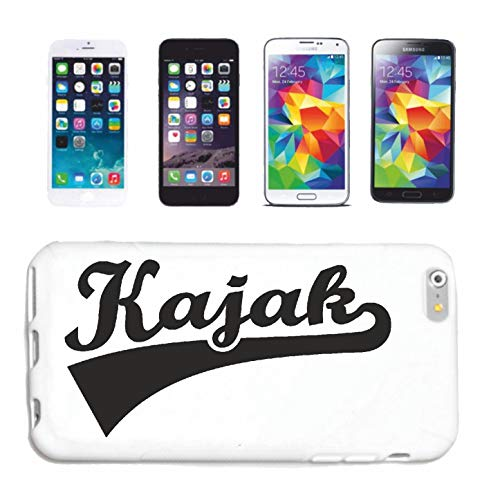 Helene telefoonhoes compatibel met Samsung Galaxy S4 Mini KAJAK rijden kajakrijders wildjenever kajak padddel watersport hardcase beschermhoes telefooncover Smart Cov