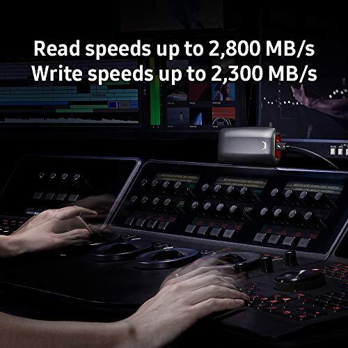 SAMSUNG X5 Portable SSD (1 TB, Thunderbolt 3, NVMe) - 7