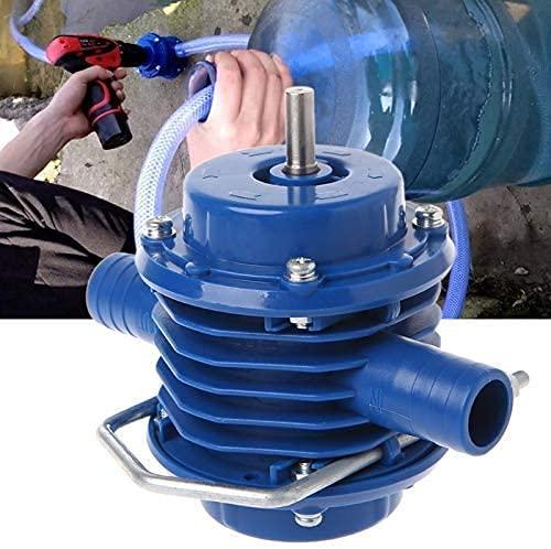 Portable Electric Drill Pump Pump for Pumping Oil Pump for Machine Water Pump Mini Hand Self-Priming Liquid Transfer Pumps Powered Pump Centrifugal Household Garden Courtyard
