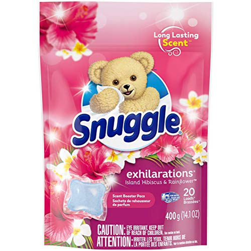 20 Snuggle Scent Boosters in-Wash Laundry Scent Pacs Now $2.59