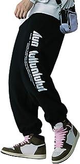 Irypulse Unisex Thicken Deportes Pantalones Trotar Trousers Alfabeto Impresa Flojo Ropa Pants para Hombres Mujeres Jóvenes...