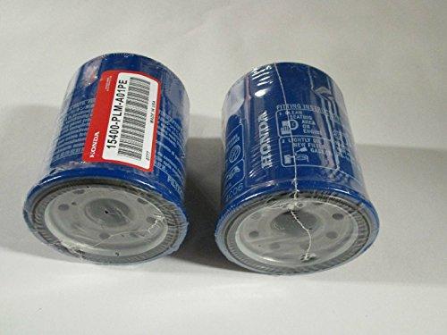 Honda 15400-PLM-A02PE Pack of 2 Oil Filters