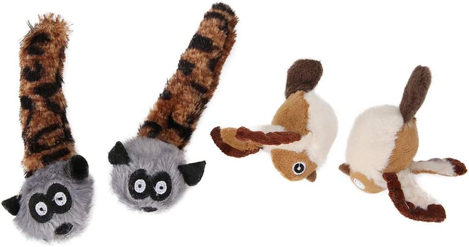 4pcs Cat Catnip Toy Animal-Shaped Popular products Wholesale Pet Playing T Funny Cats Toys