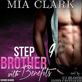 Stepbrother with Benefits 9 (Second Season) audiobook cover art
