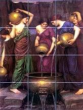 FlekmanArt Danaides by John William Waterhouse,- Art Ceramic Tile Mural 24