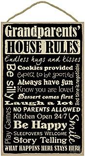 SJT ENTERPRISES, INC. Grandparents' House Rules 10