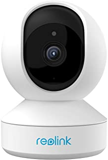 Reolink ネットワークカメラ WiFiカメラ 300万画素 パンチルト機能 ベビーモニター ペット 見守りカメラ スマホ対応 ワイヤレス防犯カメラ 屋内 双方向音声動作検知 12m暗視撮影 録画可能 Googleアシスタント/アレクサ対...