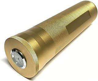 2pcs Portable Cigar Tube Box Metal Hygrometer Container Storage Portable Humidor Smoking Travel Accessories Men's Gadget (...