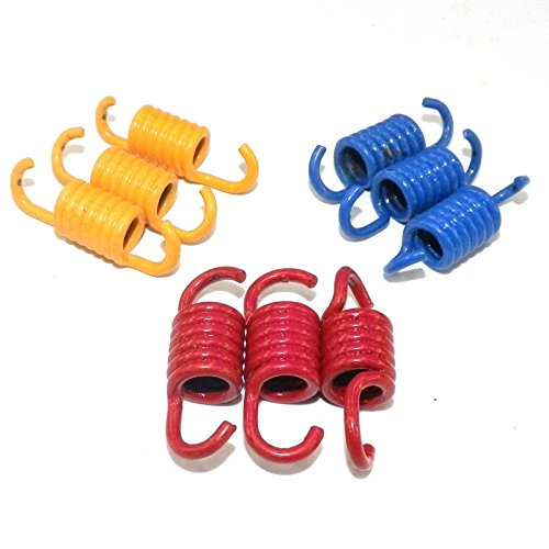 yunshuo 3pcs rendimiento Racing Muelles de embrague GY6 150 cc 157QMJ 152QMI chino Scooters