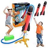 Let's Arezooo Rakete Spielzeug, Spielzeug ab 3-12 Jahre Junge Kinder Outdoor Spielzeug Spiele für Draussen Mädchen Geschenke 3 4 5 6 7 8 9 10 Jahre Garten Spielzeug Spiele ab 3-12 Jahren