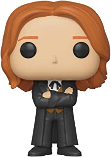 Funko Pop! Movies: Harry Potter - George Weasley (Yule),Multicolor,3.75 inches